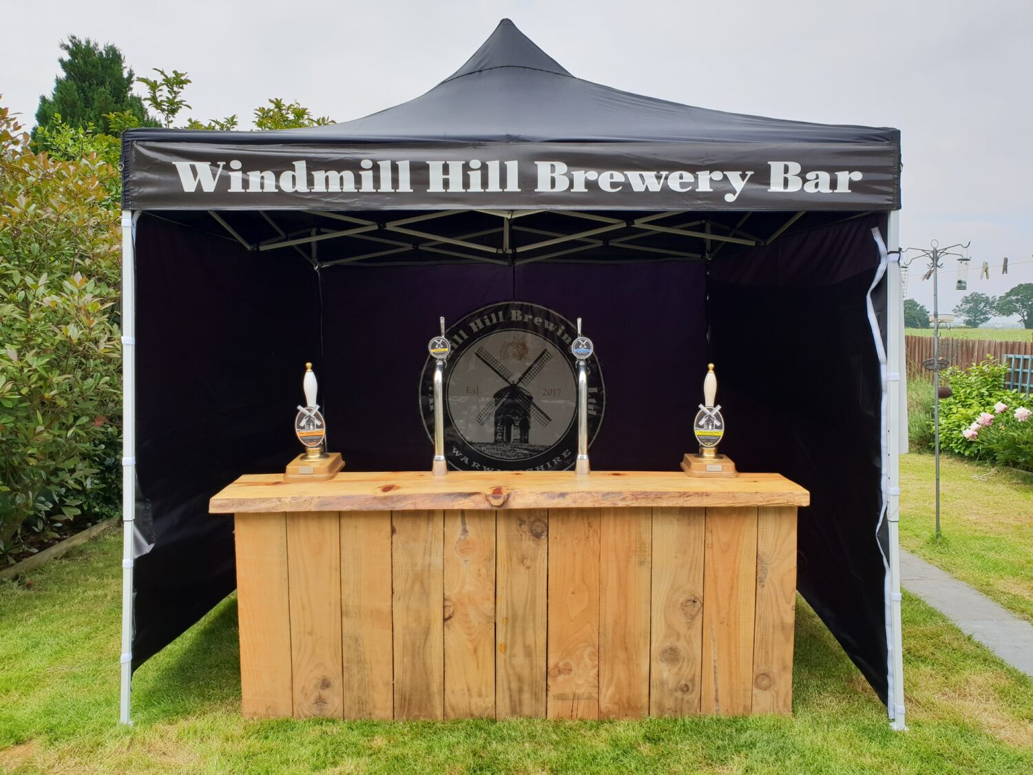mobile bar leamington spa, pulled with passion, warwickshire based brewey